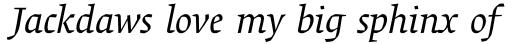 Alisal Std Italic sample