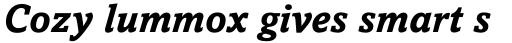 Amasis Std Bold Italic sample
