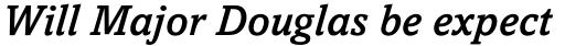 Amasis Std Medium Italic sample