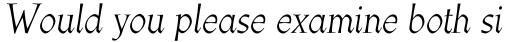 Athenaeum Std Italic sample