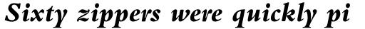 Bembo Std Extra Bold Italic sample