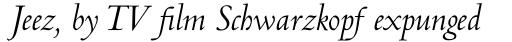Centaur Std Italic sample