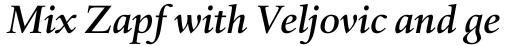 Haarlemmer Pro Medium Italic sample