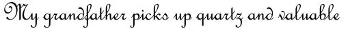 French Script Std Regular sample