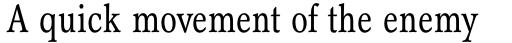 Garth Graphic Std Condensed sample