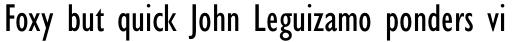 Gill Sans Pro Condensed sample