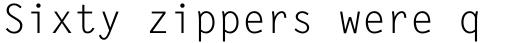 Letter Gothic Std Regular sample
