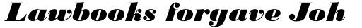 Monotype Bodoni Std Black Italic sample