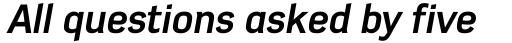 Azbuka Std Bold Italic sample