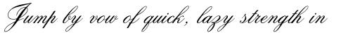 Citadel Script Pro Regular sample