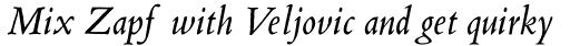 Blado Pro Italic sample