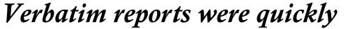 Calisto Pro Bold Italic sample