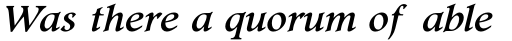 Footlight Pro Italic sample