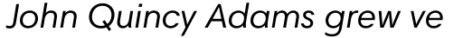 Harmonia Sans Pro Italic sample