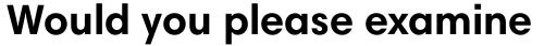 Harmonia Sans Std Bold sample