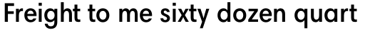 Harmonia Sans Std Condensed Semi Bold sample