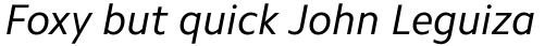 Camphor Std Italic sample