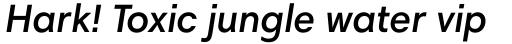 Harmonia Sans Pro Cyrillic Semi Bold Italic sample