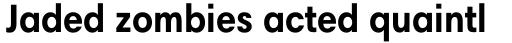 Harmonia Sans Pro Cyrillic Condensed Bold sample