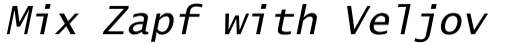 Lucida Sans Typewriter Std Oblique sample
