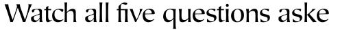 Mariposa Sans Book sample