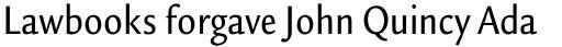 Legacy Sans Condensed Medium sample