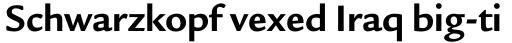 Legacy Sans Std Bold sample