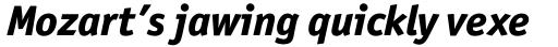 Officina Sans Pro ExtraBold Italic sample