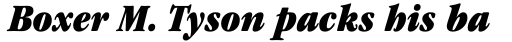 ITC Garamond Std Condensed Ultra Italic sample