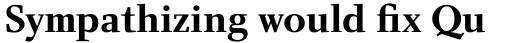 Charlotte Serif Std Bold sample