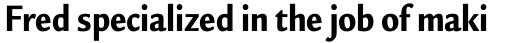 Legacy Sans Pro Condensed Ultra sample