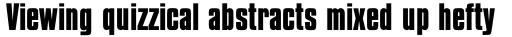 Compacta Std Bold sample