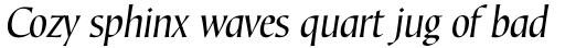 Corvallis Sans Std Oblique sample