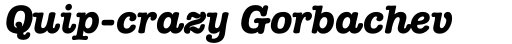 ITC American Typewriter Std Bold Italic sample
