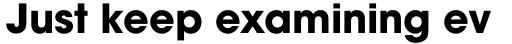 ITC Avant Garde Gothic Pro Bold sample