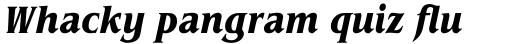 ITC Benguiat Std Condensed Bold Italic sample