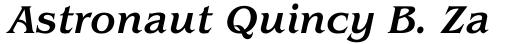 ITC Benguiat Std Medium Italic sample