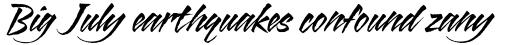 ITC Blaze Std Italic sample