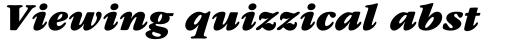 ITC Garamond Std Ultra Italic sample