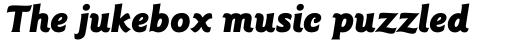 ITC Goudy Sans Pro Black Italic sample