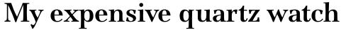 ITC Jamille Std Bold sample