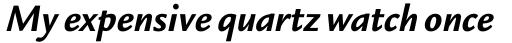 Legacy Sans Pro Bold Italic sample