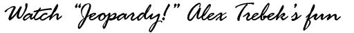 Rage Italic Std sample