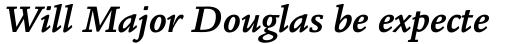 Legacy Square Serif Std Bold Italic sample
