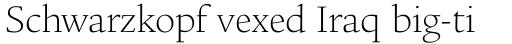 Legacy Square Serif Std ExtraLight sample