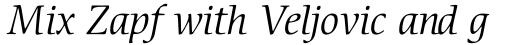 ITC Cerigo Pro Book Italic sample