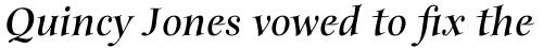 ITC Anima Std Bold Italic sample