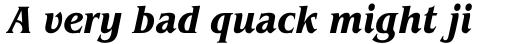 ITC Benguiat Pro Condensed Bold Italic sample