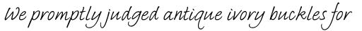 Bradley Type Std Italic sample