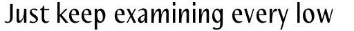 Nautilus Text Pro Regular sample